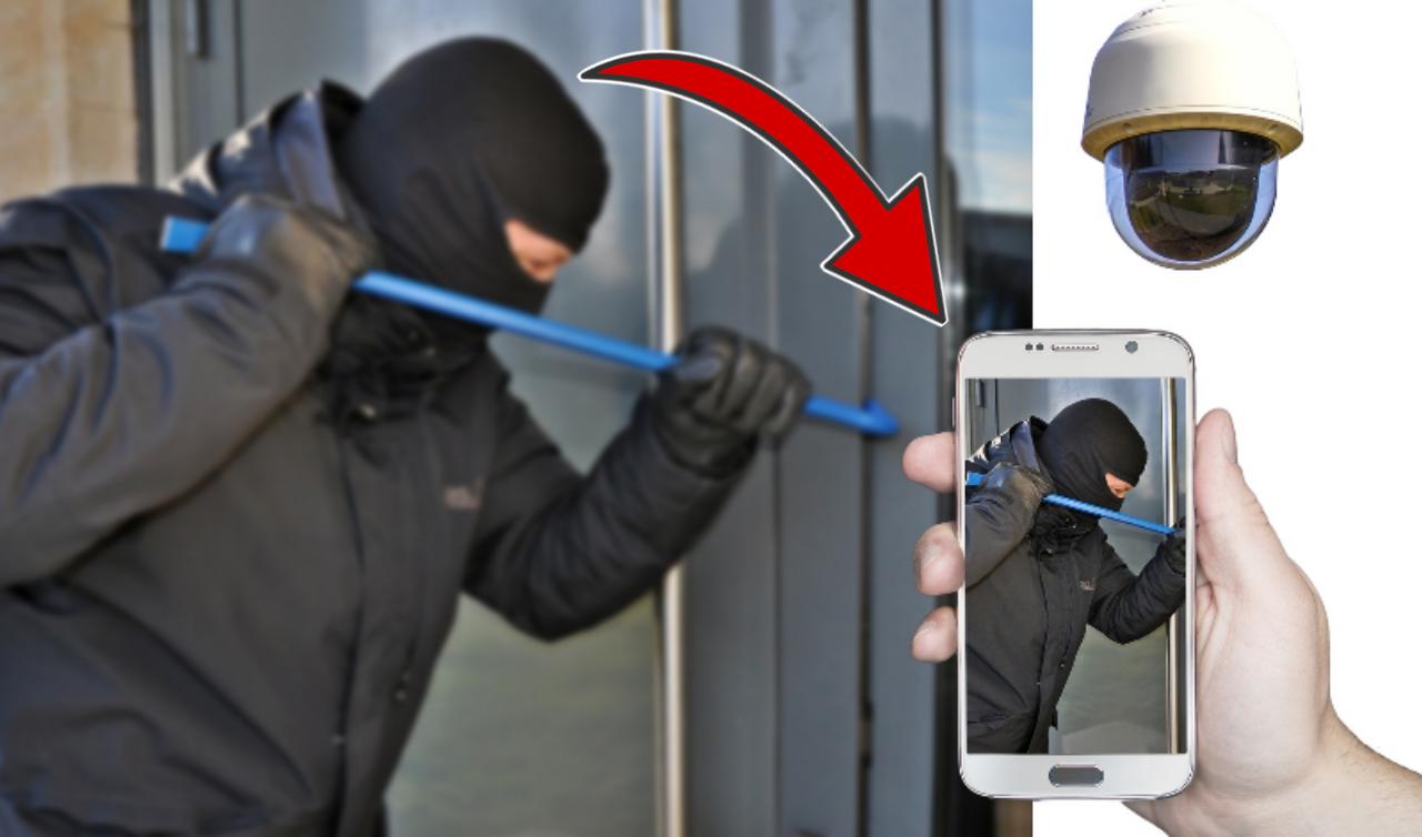 كيف تحول هاتفك لجهاز أنذار وكامرة مراقبة لحماية منزلك من اللصوص !!! والتحكم بة عن بعد طول فترة غيابك