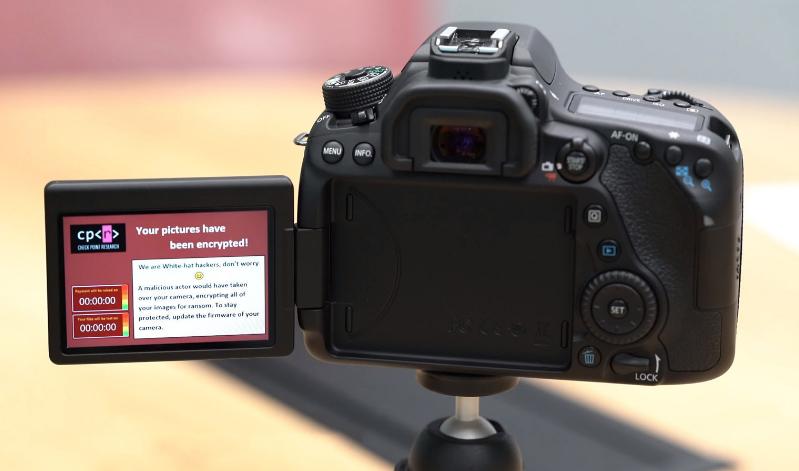 باحثون في ألآمن السيبراني : كامرة Canon يمكن أختراقها وأحتجاز الصور ومقاطع الفيديو وطلب فدية !!!