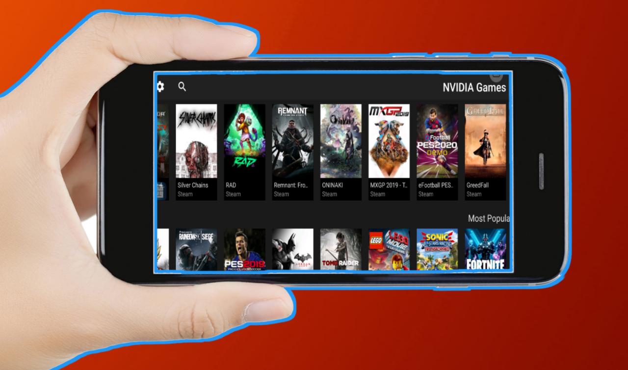 وأخيراً شركة NVIDIA تطلق تطبيق لتشغيل ألعاب بلايستيشن و Xbox على الهواتف الذكية بدون تثبيتها