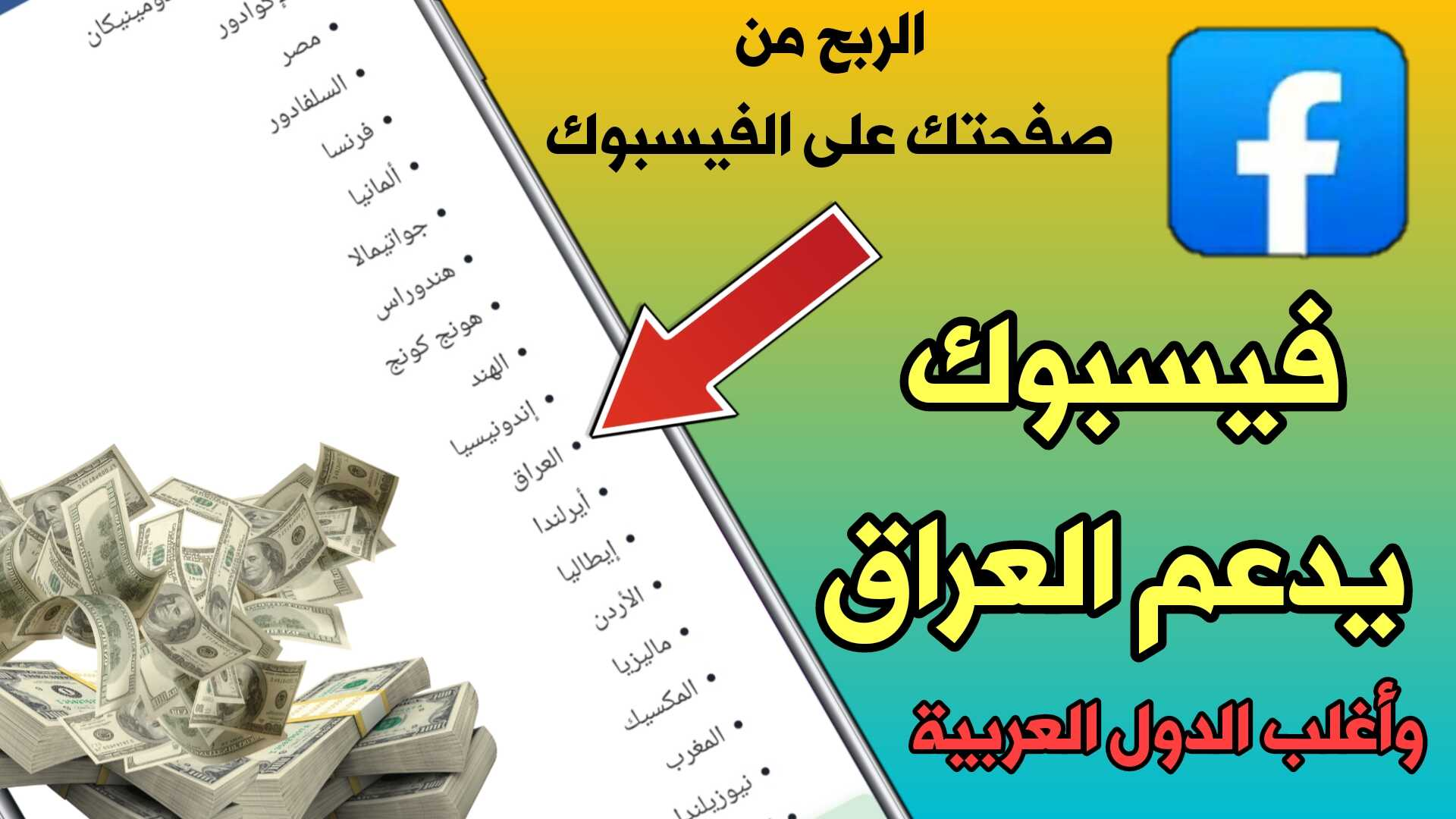 وآخيراً فيسبوك يدعم العراق للربح من أعلانات الفيديو والمقالات الفورية / الربح من صفحتك على الفيسبوك