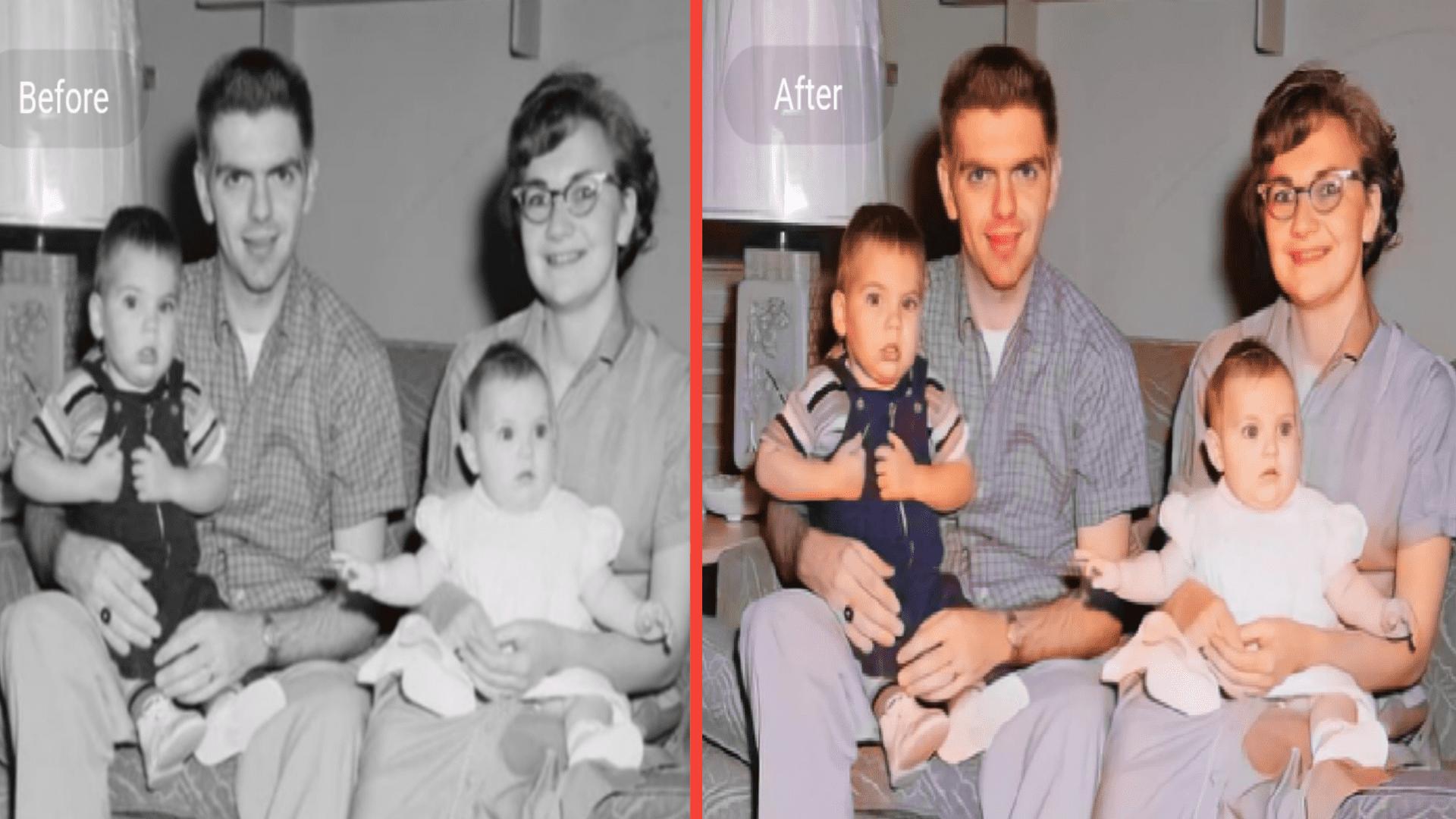 أصلاح الصور القديمة تلوين الصور تحسين الصور للاندرويد